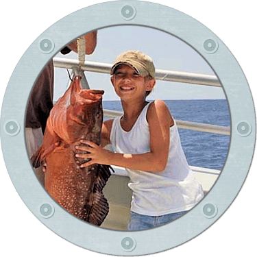 Better than head boat fishing because large groups can enjoy plenty of deck space for fishing around our Hatteras wrecks.