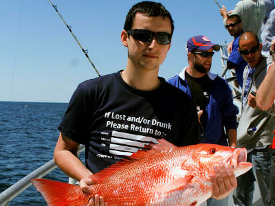 Our season for red snapper is only open for six days each year currently so please call ahead.